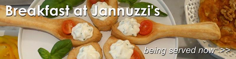Breakfast at Palazzo Jannuzz