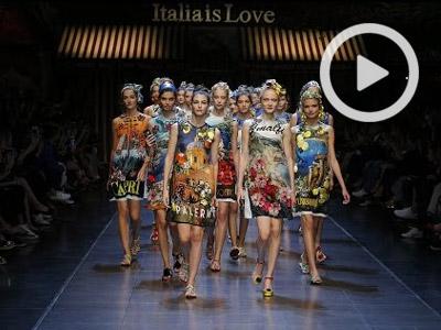 Italia is Love fashion show