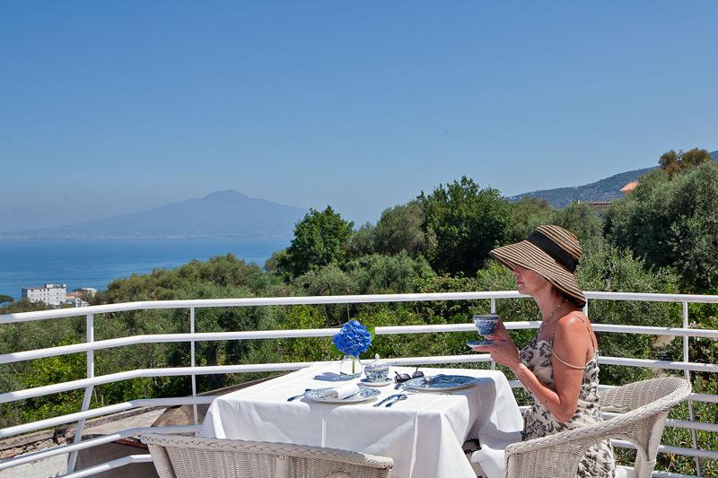 Villa Oriana Breakfast