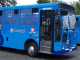 Blue SITA Bus
