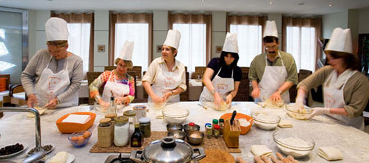 Cooking course in Sorrento