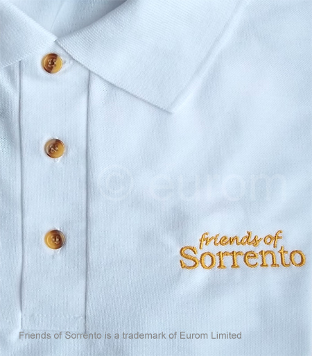 Friends of Sorrento exclusive polo shirt