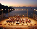 Outdoor concert at Ravello