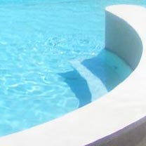 Detail of swimming pool