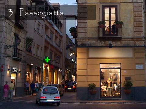 Evening passegiatta