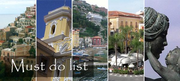 Sorrento Top Ten List