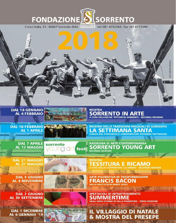 Villa Fiorentino 2018 Programme