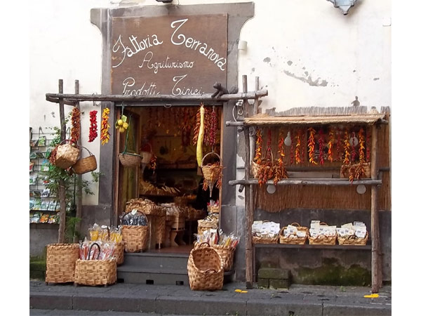 Stall on Piazza Tasso