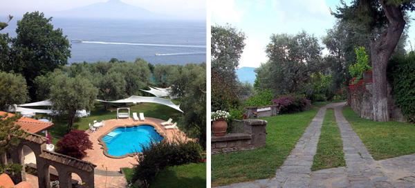 Views at Villa Capo Santa Fortunata