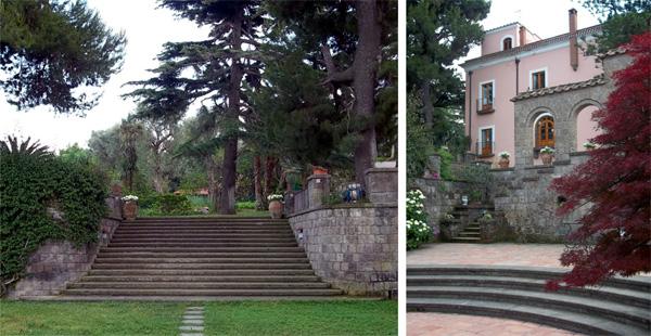 Garden at Villa Capo Santa Fortunata