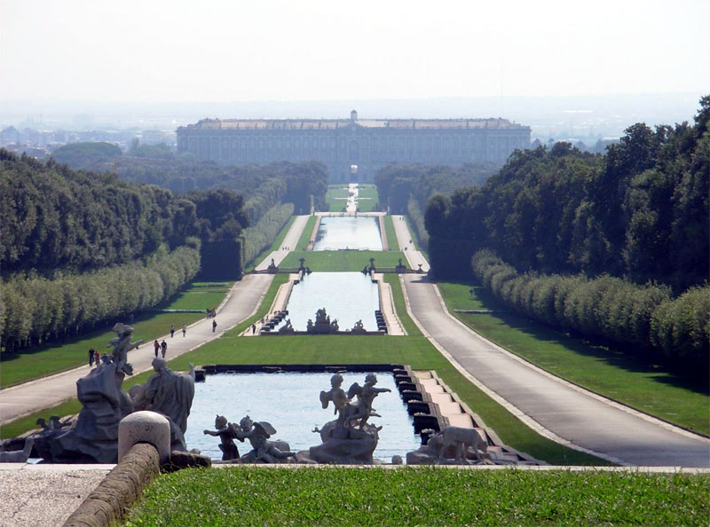Caserta palace and gardens