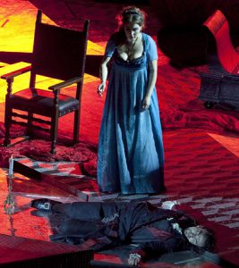 Tosca at San Carlo Opera House in Naples