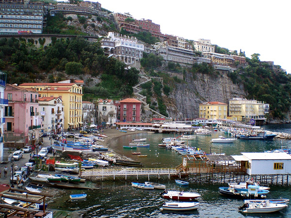 Marina Grande in Sorrento