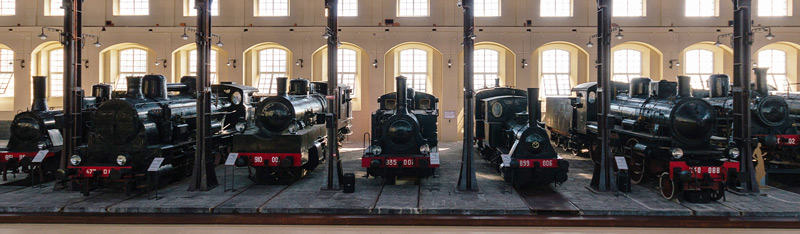 The National Railway Museum of Pietrarsa