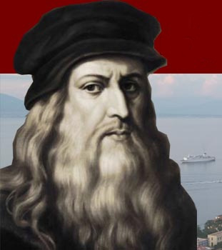 Leonardo Da Vinci in Sorrento