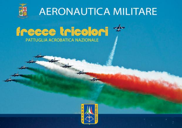 The Frecce Tricolori Air Display in Sorrento
