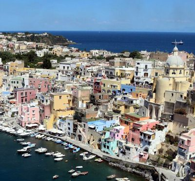 Procida from Sorrento
