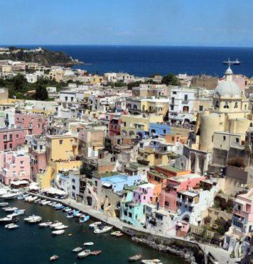 Island of Procida near Naples