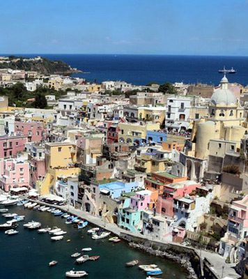 Island of Procida near Naples
