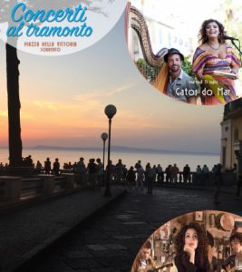 Concerts at sunset in Sorrento