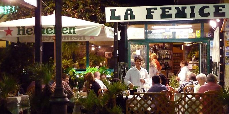 La Fenice Restaurant in Sorrento