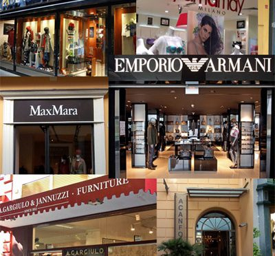 Shopping on Sorrento's Corso Italia