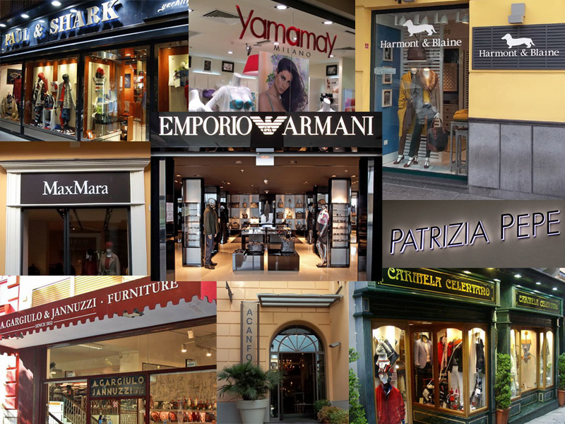 fashion-shops-in Sorrento