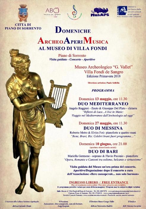 Villa Fondi Concerts in Piano di Sorrento