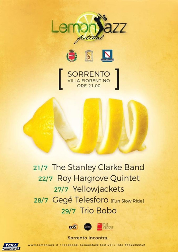 Lemon Jazz Festival Sorrento
