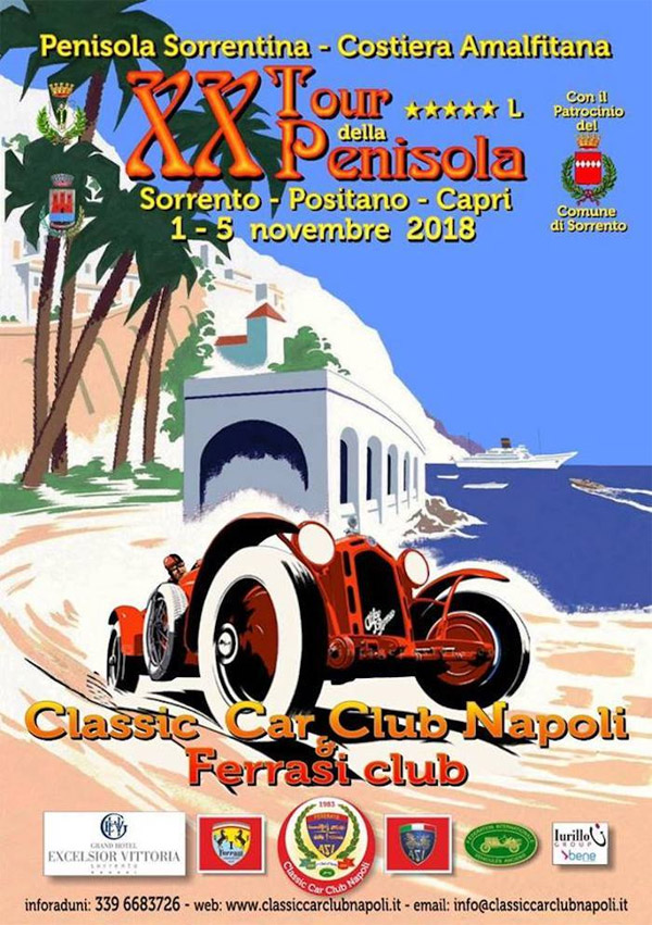 Classic Car Club Napoli in Sorrento