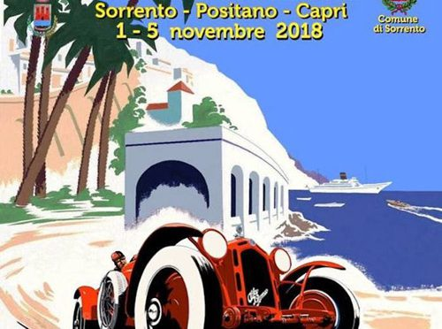 Classic Cars Tour of Sorrento and Amalfi
