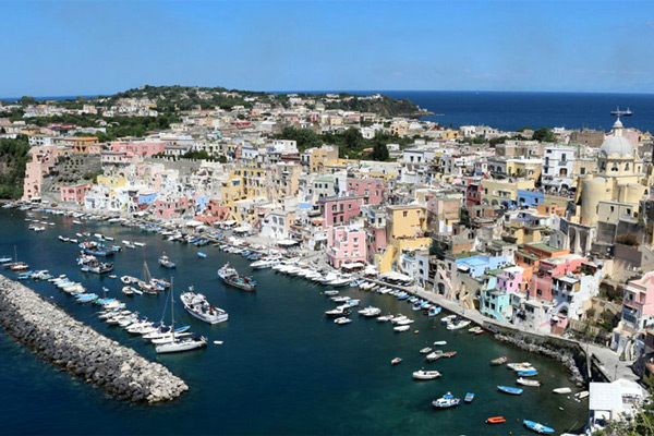 Boat trip to Procida from Sorrento