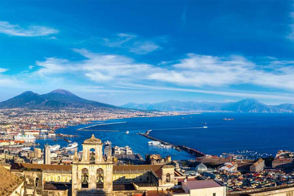Naples tour from Sorrento