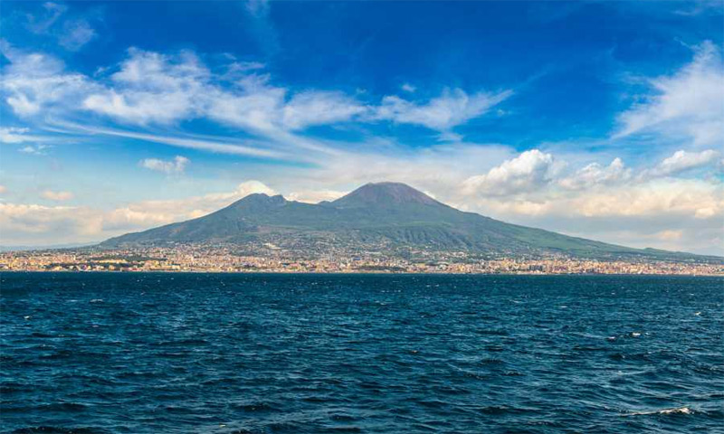 Pompeii and Vesuvius boat trip from Sorrento