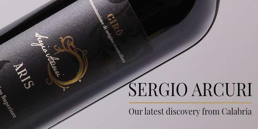 Aris wine fom Sergio Arcuri