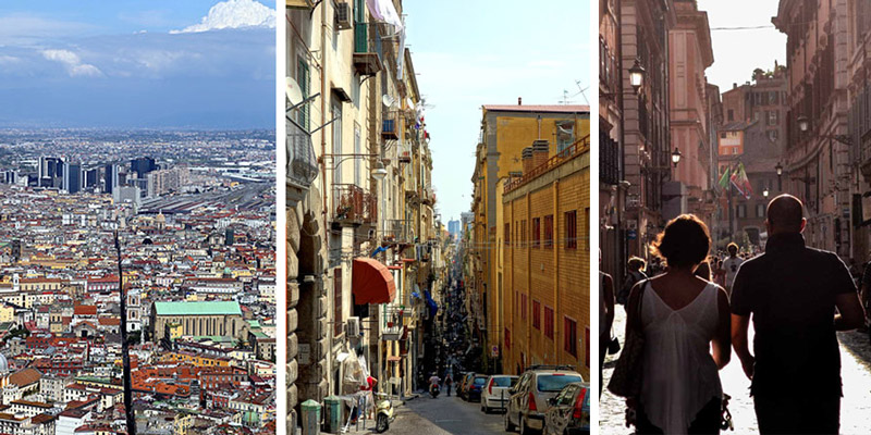 Streets in Naples
