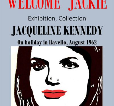 Jackie Kennedy in Ravello