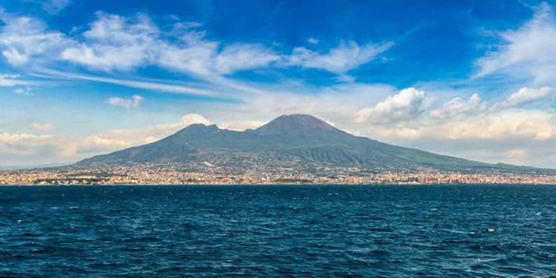 Vesuvius and Bay of Naples