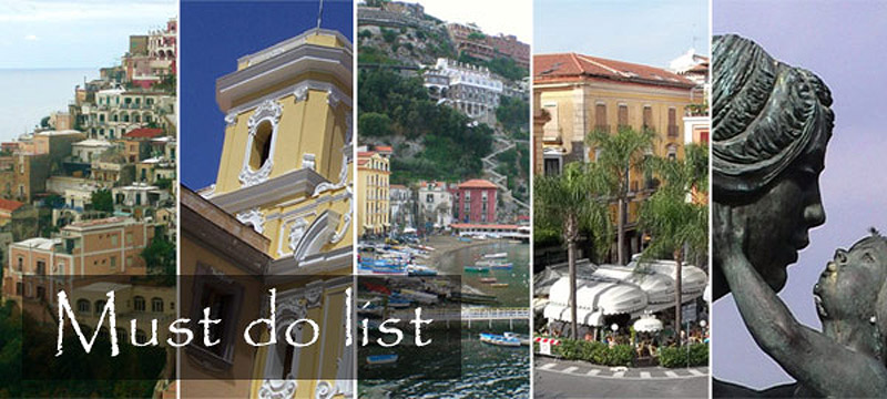 Places to see in Sorrento and Amalfi