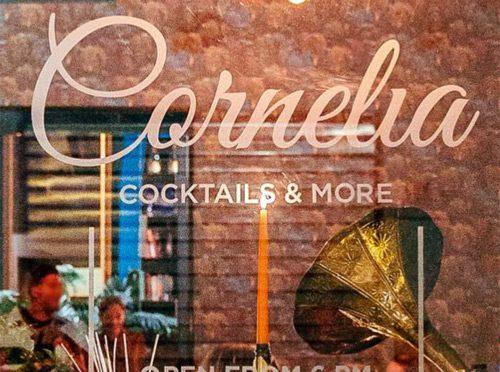 Cocktails at Cornelia